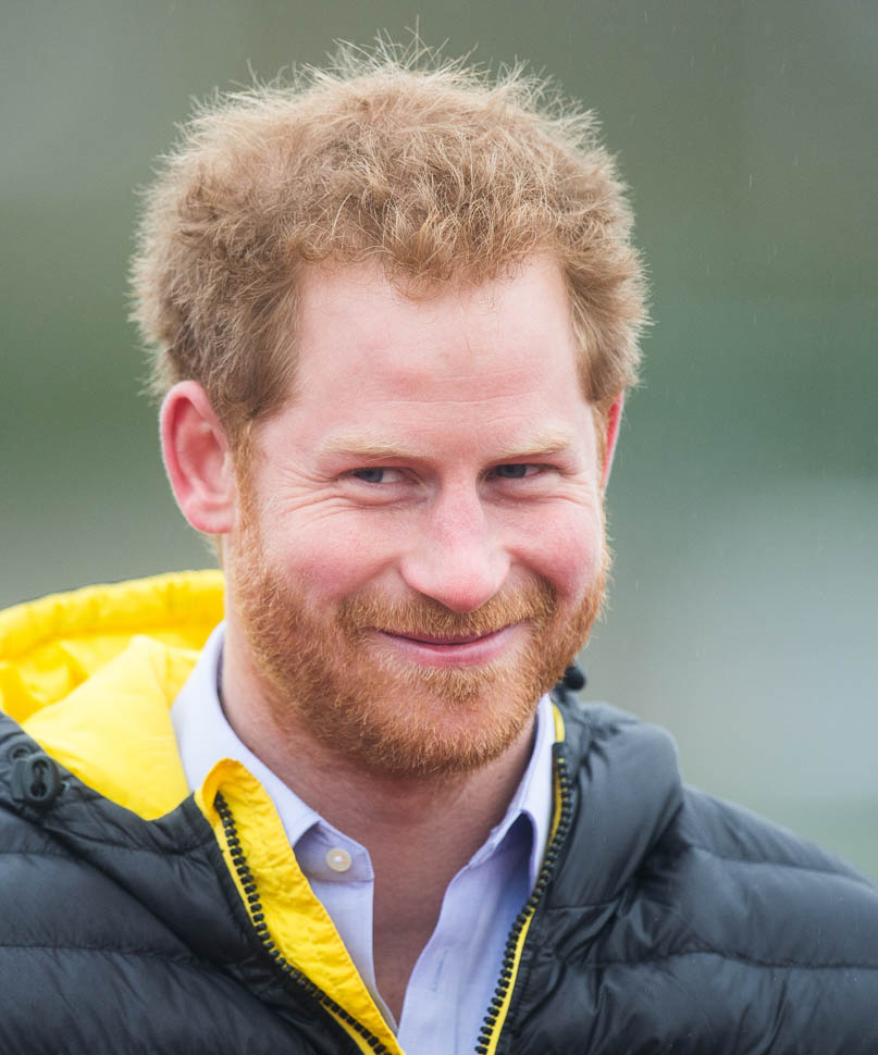 BATH, ENGLAND - JANUARY 29:  Prince Harry attends the UK team trials for the Invictus Games Orlando 2016 at University of Bath on January 29, 2016 in Bath, England.  (Photo by Samir Hussein/WireImage)