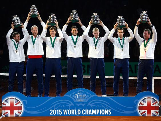 Davis Cup 2015 #BacktheBrits Bring on This Year