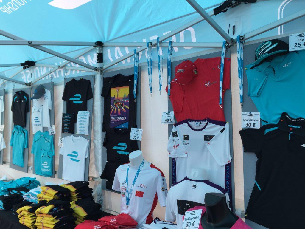 Formula E Berlin Merchandise