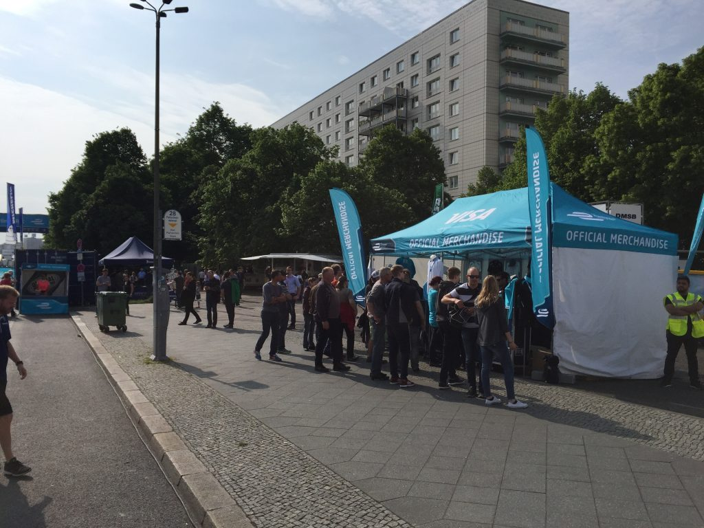 Formula E Berlin Merchandise