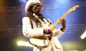 Nile Rodgers Rocking Out