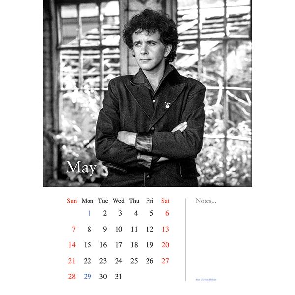 David Essex Calendar May