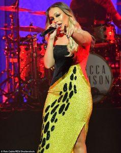 Rebecca Ferguson live At The Palladium London