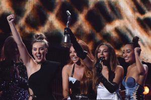 Little Mix winning 'Best Single'