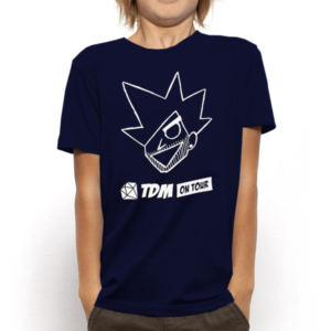 Kids Evil Dan TDM Navy T-Shirt