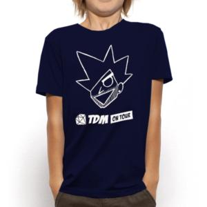 Kids Evil Dan TDM Navy T-Shirt