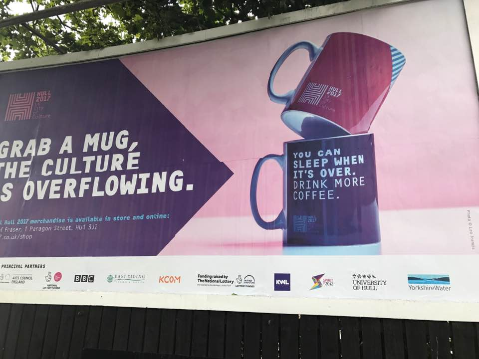 Hull City of Culture Billboard