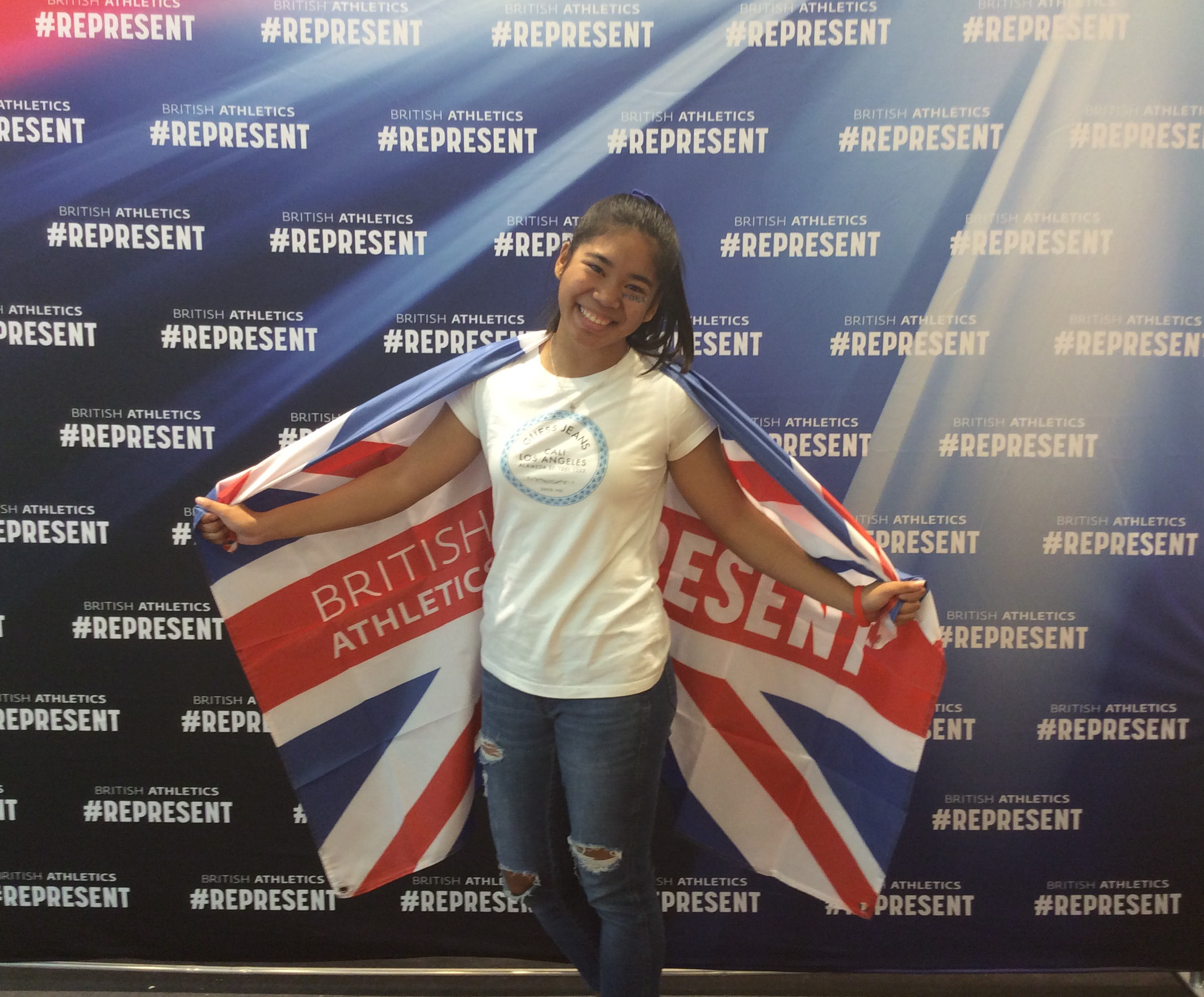 Fan and Represent GB Flag