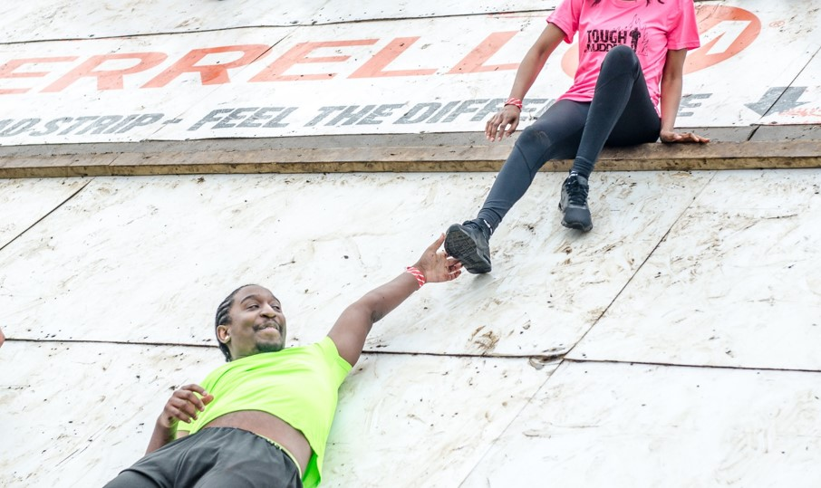 Tough Mudder 5K Pyramid Scheme