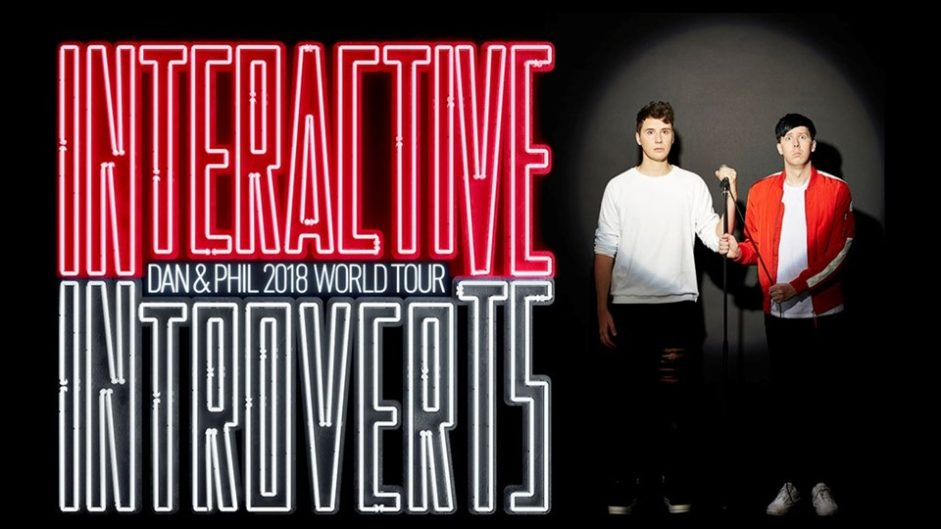 Dan And Phil Interactive Introverts Tour 2018 Event Merch