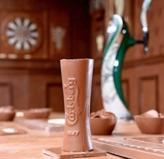 Carlsberg Chocolate Pint Glass